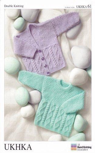 Amazoncom Ukhka61 Cardigans And Sweaters Baby Double Knitting