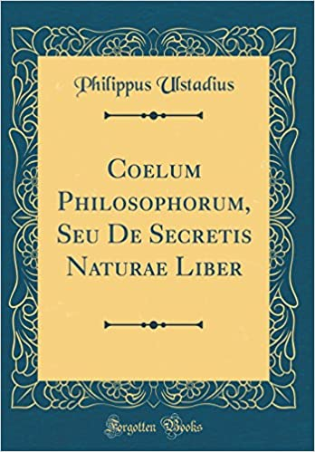 COELUM PHILOSOPHORUM PDF DOWNLOAD