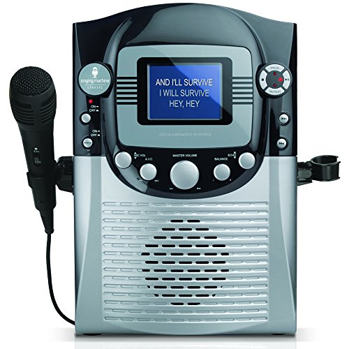 Singing Machine CDG Karaoke System with 3.5 inch Color LCD Monitor ()