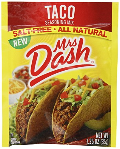 Mrs. Dash Taco Seasoning Mix, 1.25 Ounce (Pack of 12) by Mrs. Dash