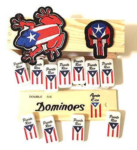 Puerto Rico Flags Dominoes
