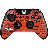 Skinit NFL Denver Broncos Xbox One Controller Skin - Denver Broncos Orange Blast Design - Ultra Thin, Lightweight Vinyl Decal Protection