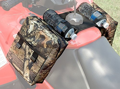 COCO Durable Universal Mossy Oak Infinity Camouflage ATV Tank Bag Saddle Bag Waterproof Rack Bage with Great Add On by Unknown (Image #1)