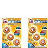baking soda hamper - Arm & Hammer Odor Busterz Balls, 3 Pack (2)