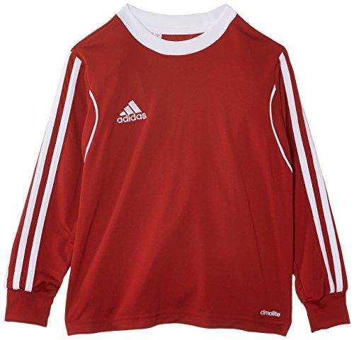 adidas Jungen Trikot Squadra13 1/1 Arm, University Red/White, 140, Z20636