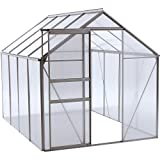 OGrow 6.3 Ft. W x 8.4 Ft. D Greenhouse