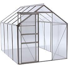 OGrow 6.3 Ft. W x 8.4 Ft. D Greenhouse