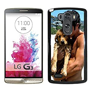 Custom Luxury Cover Case With Josh Hutcherson Black LG G3 Case