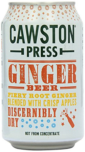 Cawston Press Cawston Press Sparkling Ginger Beer Can 330ml (Pack of 24) by Cawston Press