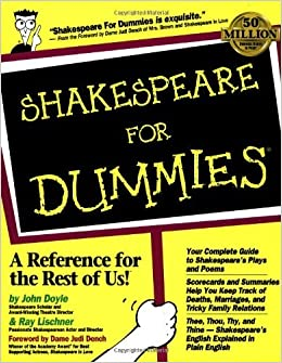 Shakespeare For Dummies by John Doyle (1999-04-16)