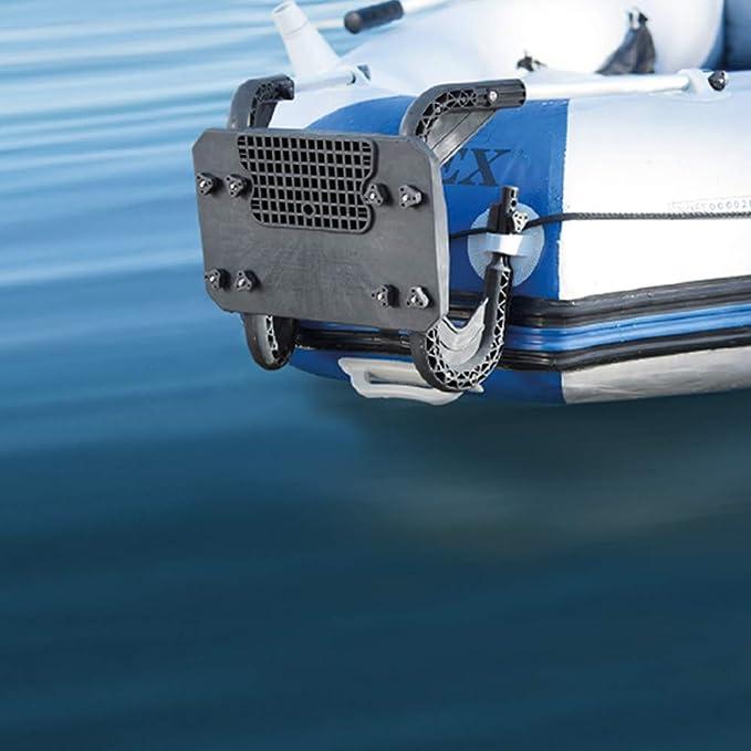 Intex 68624NP - Soporte motor fueraborda 20 x 22 cm base aluminio