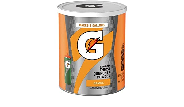 Gatorade Orange Instant 50.9 oz - 6 Gallon Mix: Amazon.es: Alimentación y bebidas