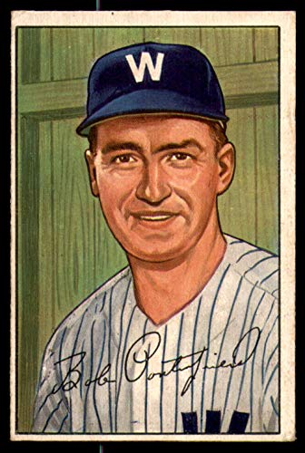 1952 Bowman #194 Bob Porterfield Very Good Senators ()