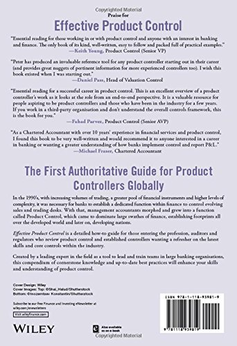 Effective Product Control Controlling For Trading Desks Nash Peter 9781118939819 Books Amazon Ca