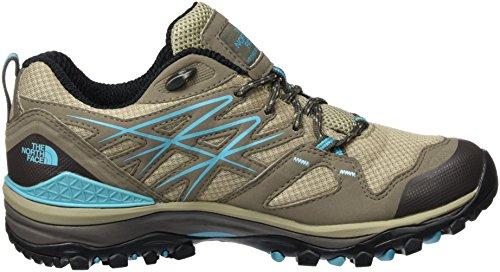 The North Face W Hedgehog Fastpack GTX (EU), Scarpe da Escursionismo Donna Grigio (Plazatpe/Blubrd)