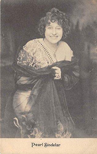 Theater Actor/Actress Old Vintage Antique Postcard Post Card, Postales, Postkaarten, Kartpostal, Cartes, Postkarte, Ansichtskarte Peal Sindelar Unused