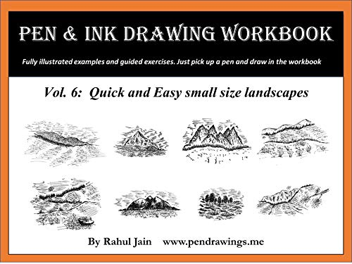 Pen And Ink Drawing Workbook Vol 6 Drawing Quick And Easy