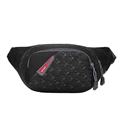 ea7cc292c5 Binmer(TM) Unisex Running Bum Bag Travel Handy Hiking Sport Fanny Pack  Waist Bag