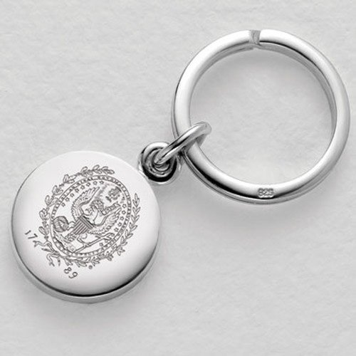 Georgetown Sterling Silver Insignia Key Ring by M. LaHart
