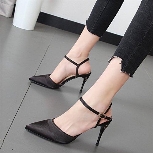 Xue Qiqi Fein mit High Heels Mädchen spitze Schuhe Schuhe Schuhe Sandalen Frauen Gericht Damenschuhe 8f7467