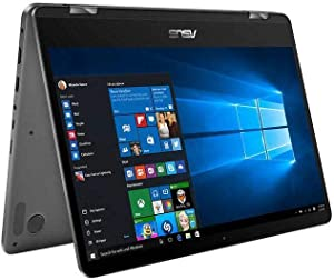 "Asus Zenbook Flip UX461U 14"" Full HD Touch 2-in-1 Laptop: Core i7-8550U, 16GB RAM, 512GB SSD, , Backlit Keyboard, Fingerprint Reader, Windows 10"