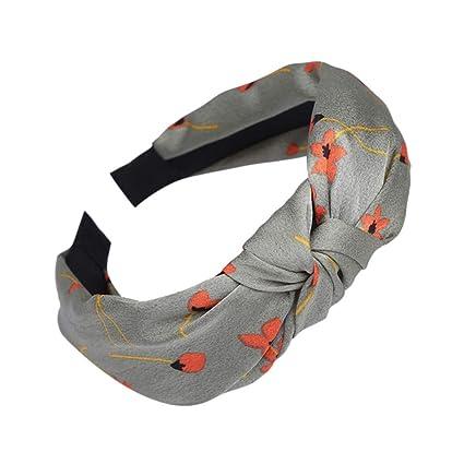 Amazon.com: Ganne Women Bohemian Print Turban Head Wrap ...