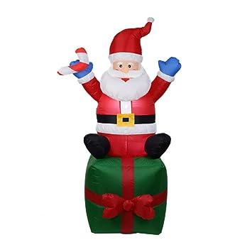 Amazon.com: Modelo hinchable de Navidad, adornos de Navidad ...