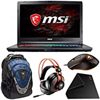 MSI GP72X LEOPARD Core i7-7700HQ 17.3 FHD 3Ms GTX1050 Gaming Laptop Bundle