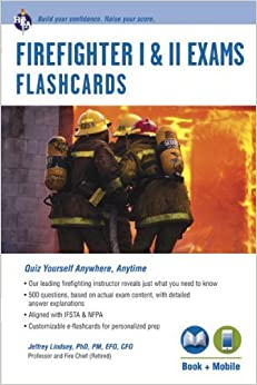 Book Firefighter I & II Exams Flashcard Book (Book Online) (Firefighter Exam Test Preparation) by Jeffrey Lindsey Ph.D. (2013-09-09)