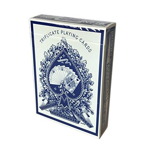 a-dougherty-no18-triplicate-dragon-back-playing-card-restoration-blue