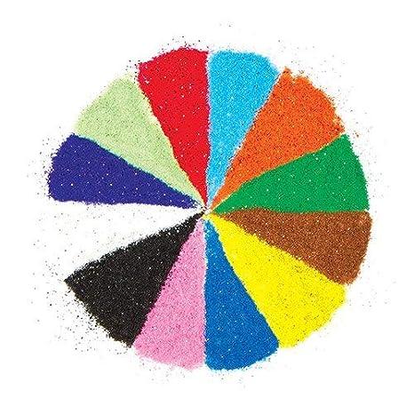 Baker Ross Bolsas de Arena Brillante en 12 Colores (Paquete de 12 ...