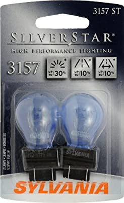 Sylvania 3157 ST SilverStar High Performance Halogen Miniature Lamp, (Pack of 2)