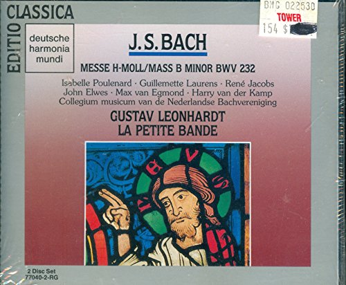Bach: Mass in B minor (2 CD Box Set) (DHM)