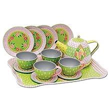 Schylling Children's Tea Set in A Case
