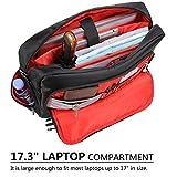 Lifewit 17.3-Inch Men's Multi-Pocket Laptop