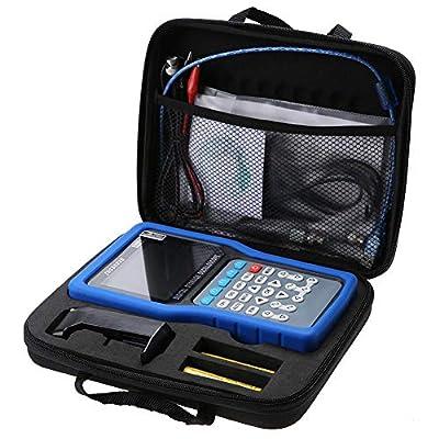 Rosvola 2CH Digital Oscilloscope, Single Channel Handheld Generator Recorder with Multimeter 50MHz 500MSa/S JDS3022E (us)