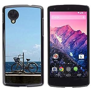 "For LG Nexus 5 D820 D821 , S-type Naturaleza Hermosa Forrest Verde 113"" - Arte & diseño plástico duro Fundas Cover Cubre Hard Case Cover"