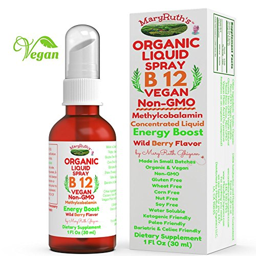 ORGANIC VITAMIN Methylcobalamin Concentrated MaryRuth product image