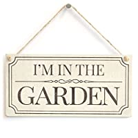 Wall Sign, Great Gift Idea for Gardeners