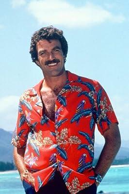 Nostalgia Store Póster de Magnum, P.I. Tom Selleck en Camisa Hawaiana roja 60 x 91 cm: Amazon.es: Hogar