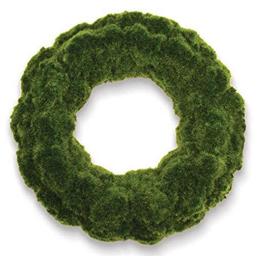 "Moss Wreath 18"""