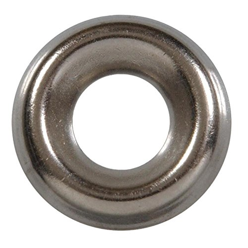 4-Pack - Hillman 10-Count #14 Stainless Steel Standard (SAE) Finishing Washers