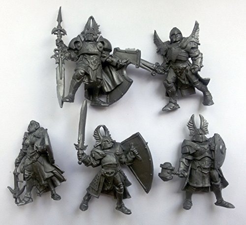 Russian Miniatures - Paladins 54 mm 1/32 - 5 Fantasy Figures Tehnolog Fantasy Battles Russian Toy Soldiers