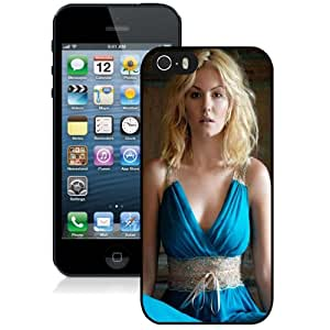 Fashion DIY Custom Designed iPhone 5s Generation Phone Case For Girl With Blue Dress Phone Case Cover