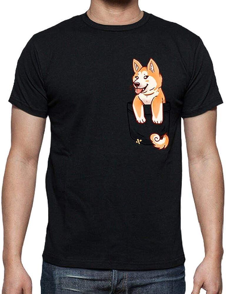 latostadora - Camiseta Bolsillo Lindo para Hombre