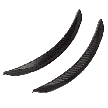 Republe 2pcs Fibra de Carbono Pasos DE Rueda Rueda Guardia Lip Cuerpo de Goma de la decoración DIY 25mm Carro del Coche de SUV: Amazon.es: Coche y moto
