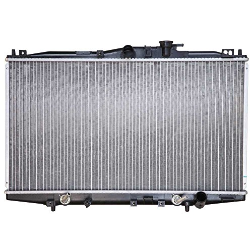 Prime Choice Auto Parts RK795 New Complete Aluminum Radiator