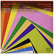 Yasutomo 4103 Craft Supplies Fold Ems Origami Paper 55/Package-Assorted Colors