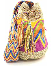 COLOMBIAN STYLE Kolumbijskie torebki z wyjątkowym nadrukiem, plecak Wayuu dla kobiet i mężczyzn.