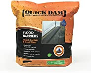 Quick Dam QD617-1 Flood Barrier, 17-ft, Black